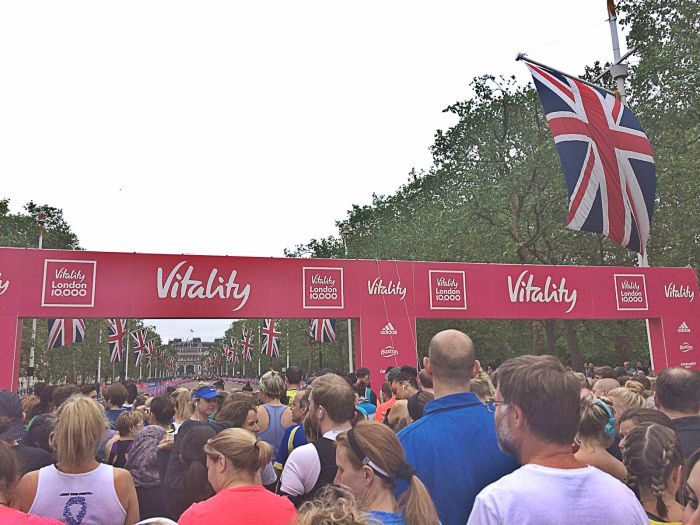 London Vitality 10,000, Finish Line, 10k, 10km race